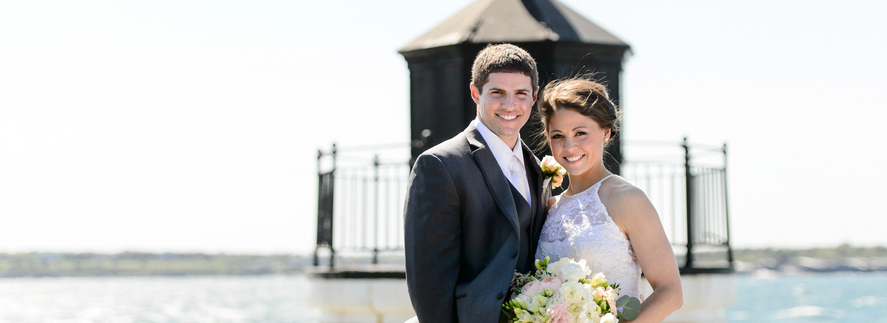 Courtney and Jeff's Castle Hill Inn Wedding