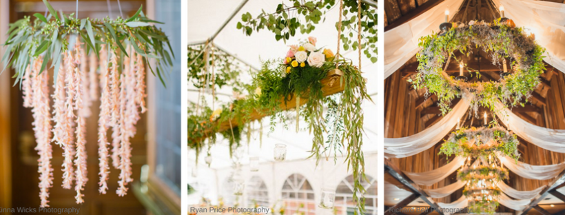 How to Make a Floral Chandelier on The Newport Bride