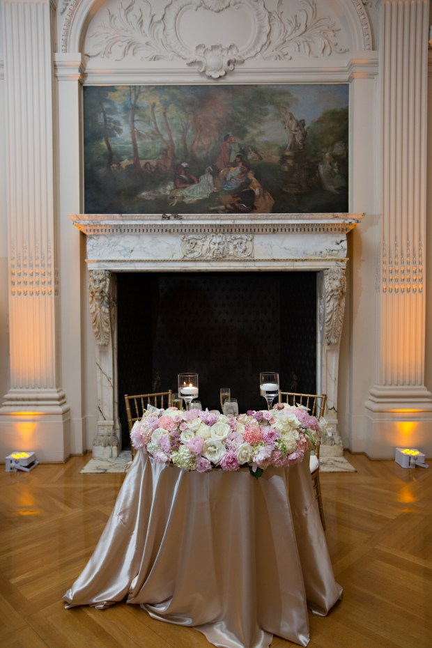 Ariana and Elie's Blush Toned Rosecliff Wedding on The Newport Bride