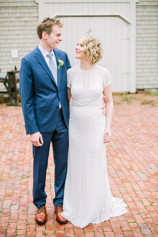 Ellen and Chris's Fall Wedding at the Narragansett Towers on The Newport Bride a Rhode Island Wedding Blog