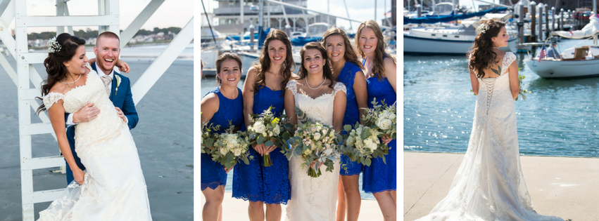 Daisy and Ryan's Easton's Beach Wedding