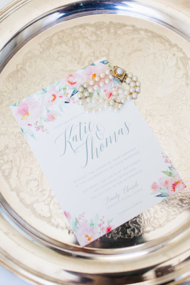 Kaite and Tom's Blithewold Mansion Wedding on The Newport Bride