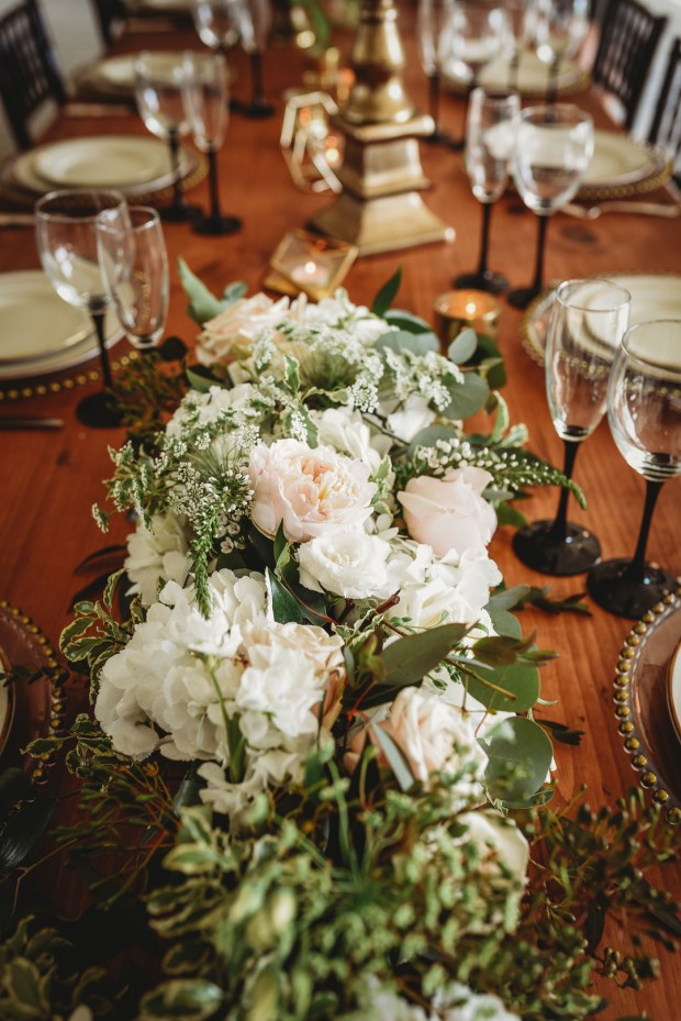 Roses and Lace Styled Shoot at Harbor Lights on The Newport Bride, a Rhode Island Bridal Blog