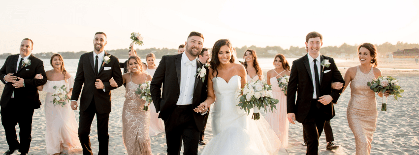 Alicia and Carl's Newport Beach House Wedding