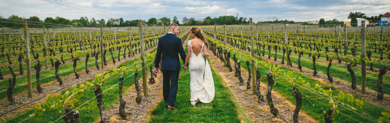 Nemythe and Chris's Newport Vineyards Wedding
