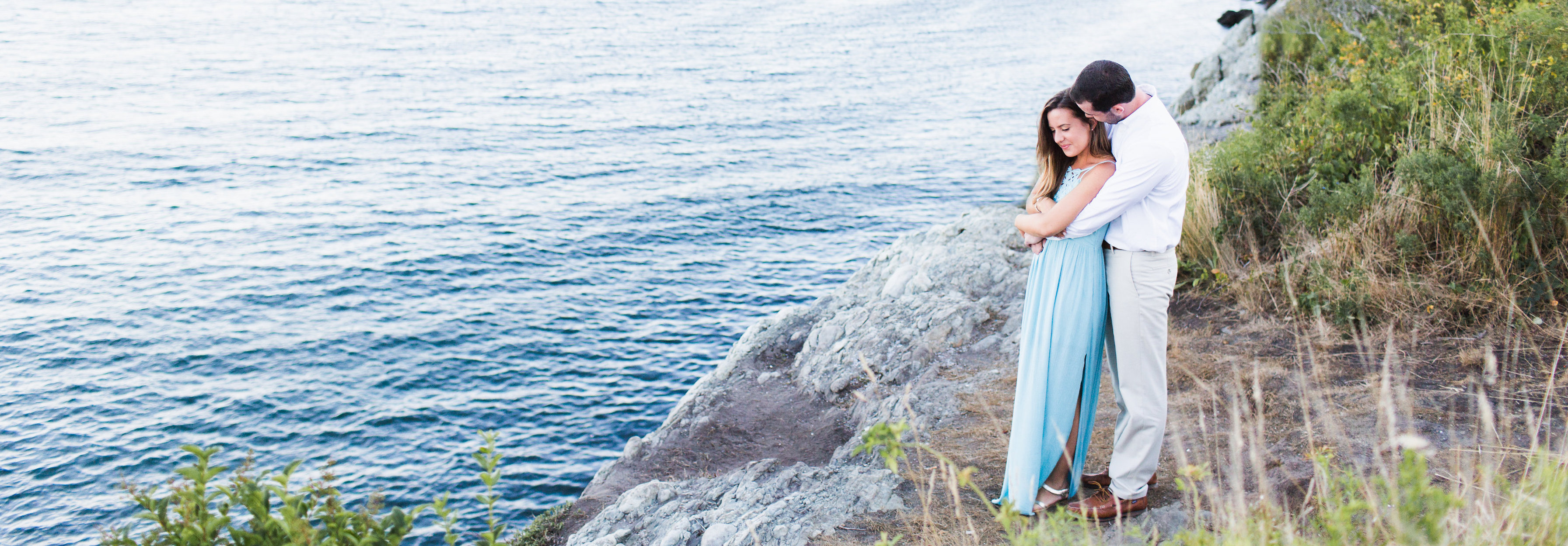 Summer Sea Side Engagement Session