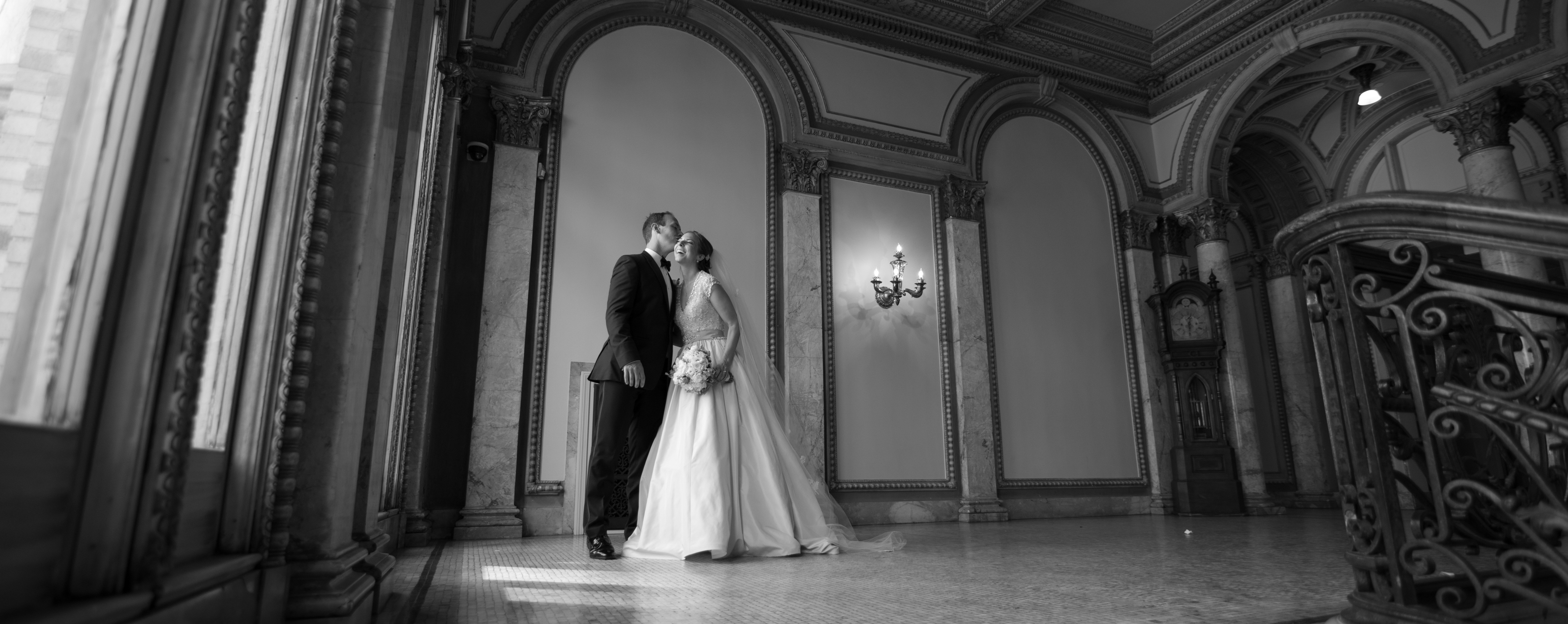 Jessica and Danny's Elegant Providence Public Library Wedding
