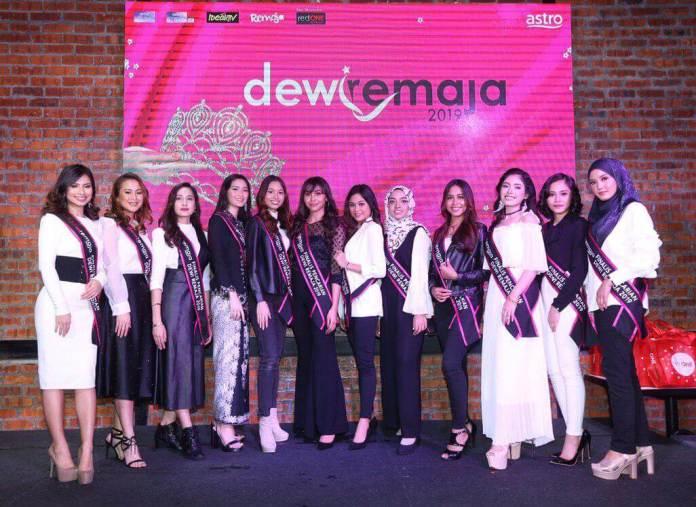 12 gadis rebut gelaran Dewi Remaja 2019