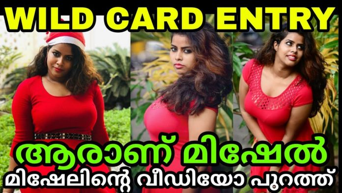 Bigg Boss 3 Malayalam Wild Card Entry Michelle Ann Daniel