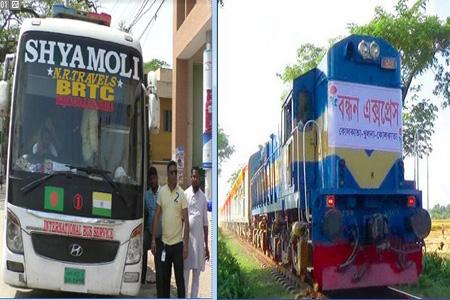 ঢাকা-কলকাতা যানবাহন