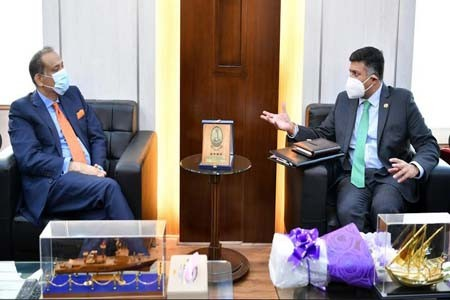 Courtesy Call on Land Minister