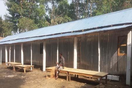 ছাতকে ৩টি পরিবারকে গৃহ নির্মাণ করে দিয়েছে 'লতিফি হ্যান্ডস'