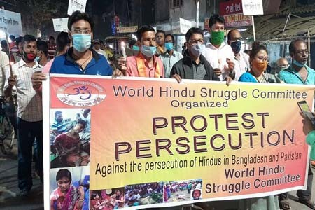 Hindus in Bangladesh want to live
