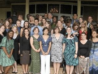 Peace Corps Rwanda swearing in photo 2009