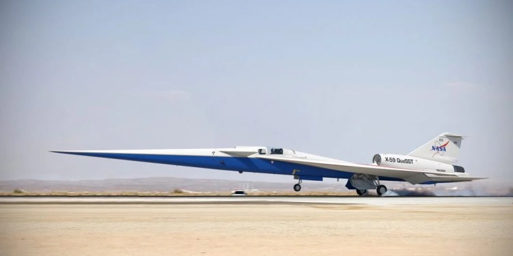 NASA's quieter supersonic plane, NASA's quieter supersonic plane gets final assembly approval