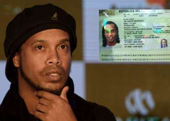 Ronaldinho arrested in Paraguay for possessing a fake passport