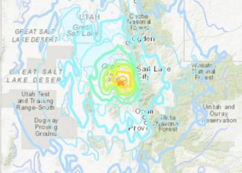 5.7 magnitude earthquake hits Utah