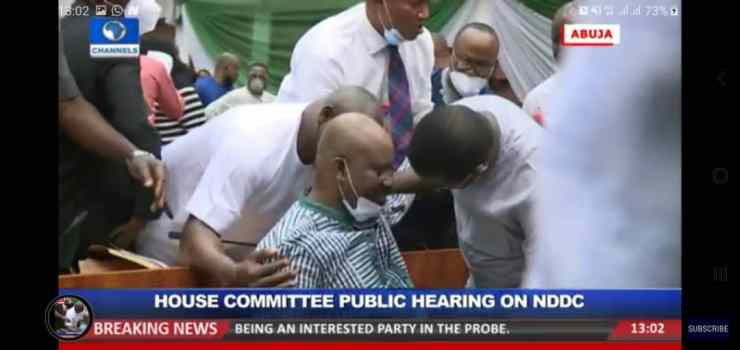 Breaking: Acting NDDC Managing Director collapses during House hearing