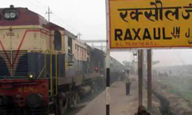 Raxual railway station