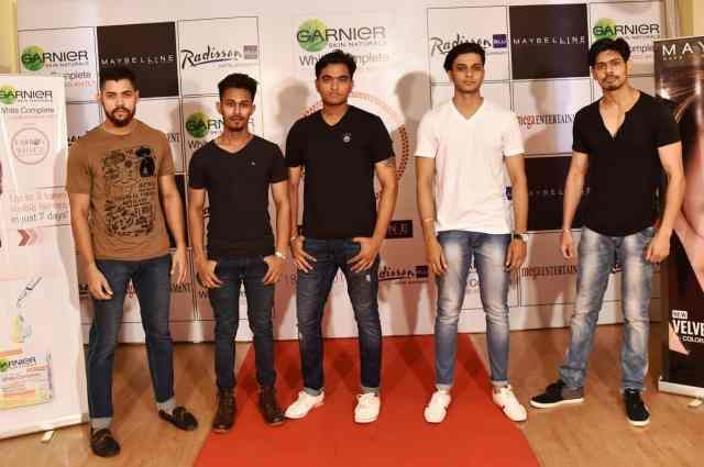 Models at the audition for Garnier White Complete Fashion Weekend
