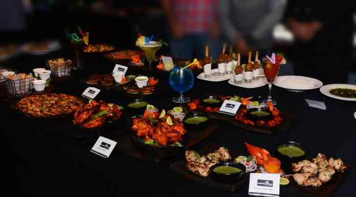 Dishes from the new menu on display at the Underdoggs Sports Bar & Grill in Guwahati on Friday, December 2, 2016. Photo by Underdoggs/Life's Purple