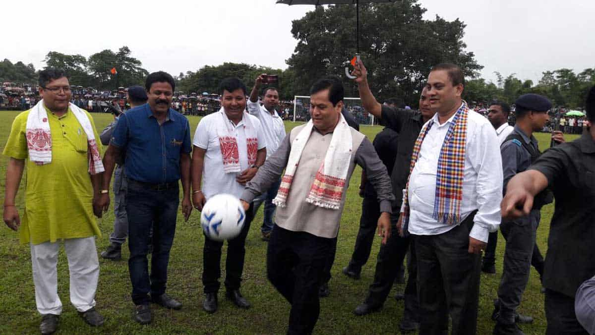 No One Will be Allowed to Distort Assam's Map: Sonowal
