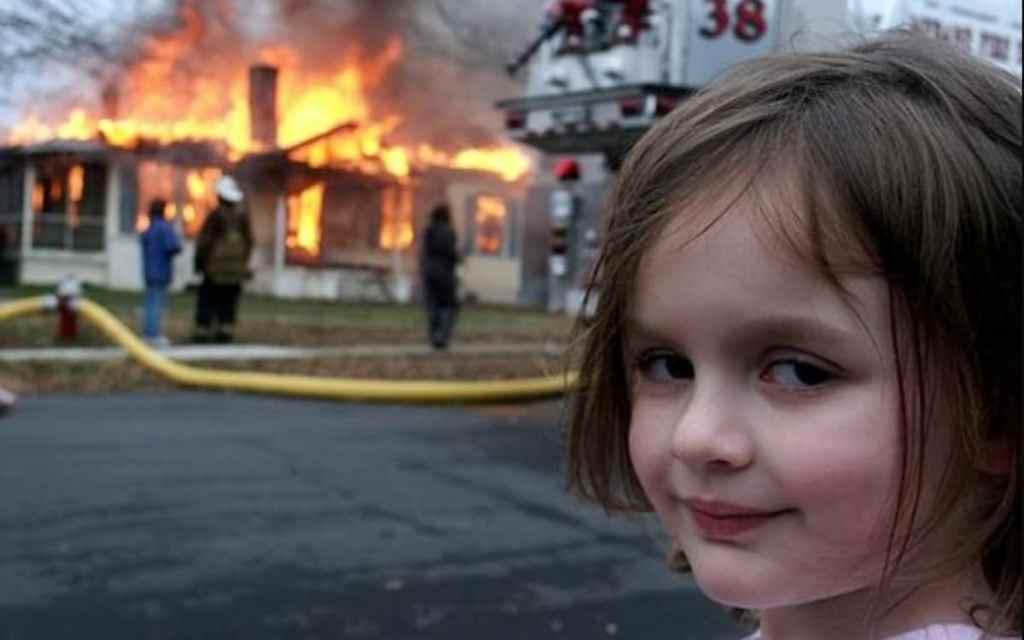 Disaster Girl: Viral Meme sold as NFT for $500,000!