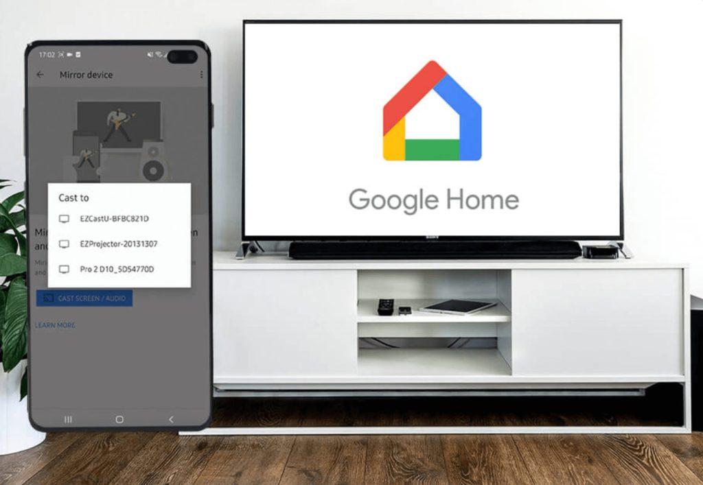 Google Home - Best Screen Mirroring Apps