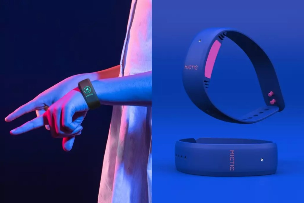 Mictic is the world's first wearable music instrument