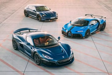 Rimac acquires 55% stake in Bugatti from VW