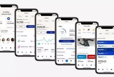 PayPal redesigned its app with a list of new features including a high yield savings bank account in partnership with Synchrony Bank