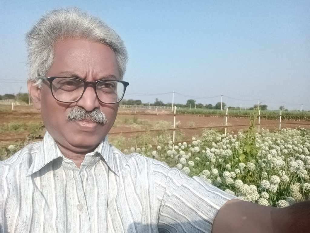 MS Subrahmanyam Raju, a farmer achieves a success in converting Chowdu Bhoomi (Alkaline Soil) into cultivable lands with good yields