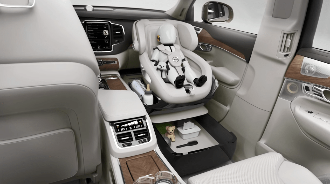 Volvo S Excellence Child Seat Concept Delivers Bold New