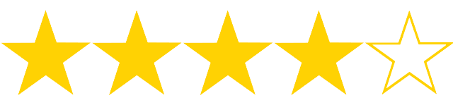 Resultado de imagen para 4 out of 5 stars
