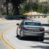 2016 Lexus ES Behind exterior