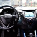 Hyundai Veloster Rally Edition console