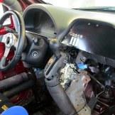 2005 Honda Racing Odyssey van interior driver seat