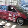 2005 Honda Racing Odyssey van side view