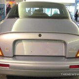 GM EV1 Electric Car at Smithsonian rear end
