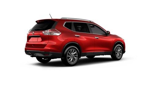 2016 Nissan Rogue Rear Oblique