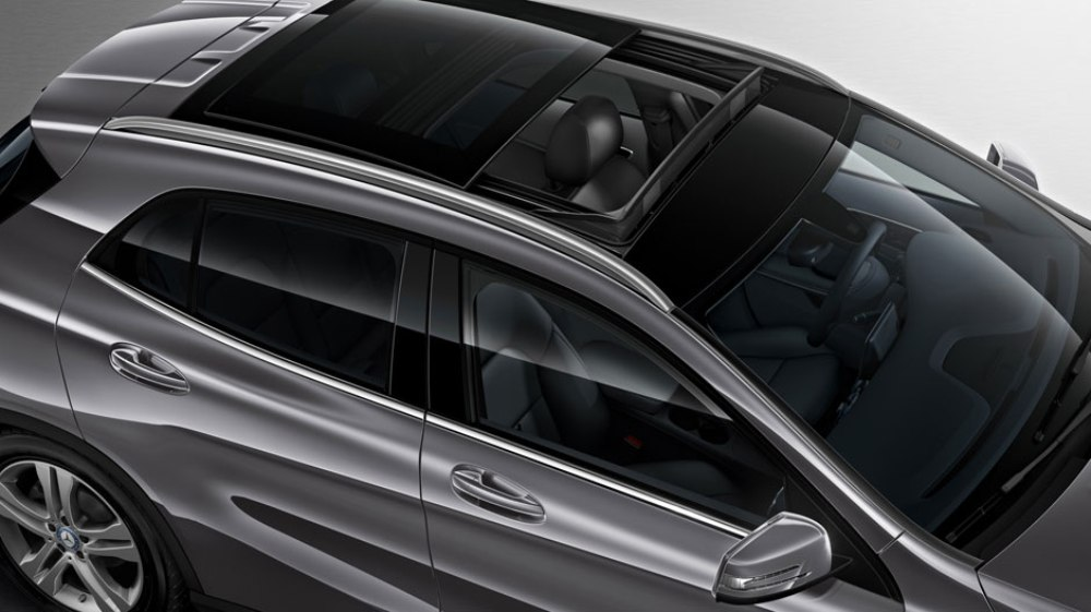 2016 Mercedes Benz GLA Silver Sunroof The News Wheel