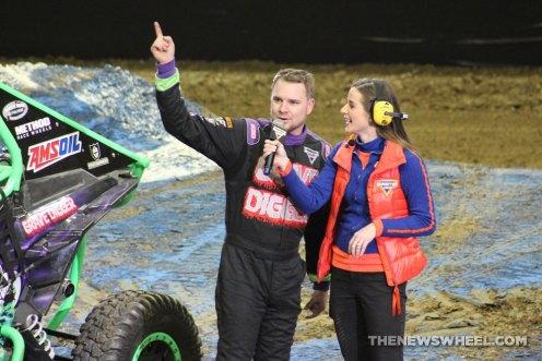 Monster Jam Show Dayton Grave Digger driver interview winner