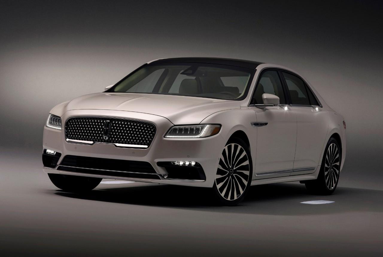 2017 Lincoln Continental Gets Fancy Schmancy Approach