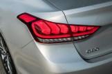 2017 Genesis G80 Overview luxury car brake light
