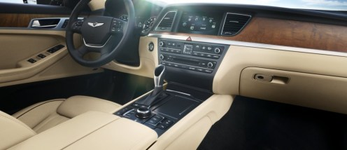2017 Genesis G80 Overview luxury car front seats