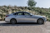 2017 Genesis G80 Overview luxury car right side profile view