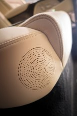 2017 Genesis G90 model overview head rest speaker