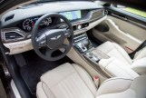 2017 Genesis G90 model overview interior cabin front seats