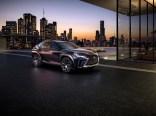 Lexus UX crossover concept 2016 Paris Auto Show