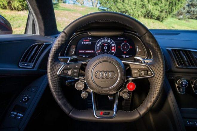 The 2017 Audi R8 V10 Plus group